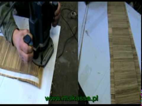 Nożyk do obcinania nadmiaru okleiny