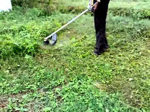 Amazingly! easy way to cut grass on your farm/garden/estate land