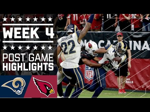 Rams Vs Cardinals Nfl Week 4 Game Highlights