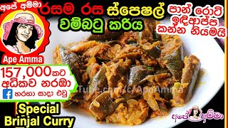 Special Brinjal Curry by Ape Amma