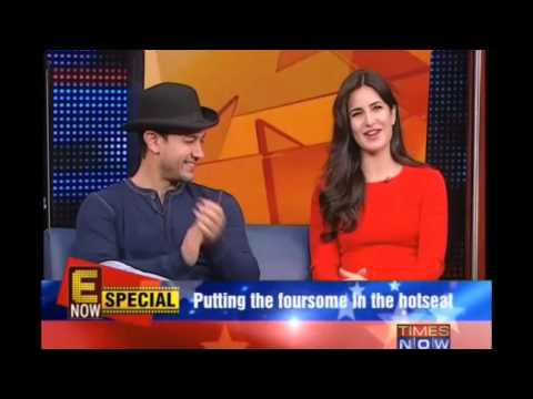 Fun Times With The Cast Of Dhoom 3!!! video