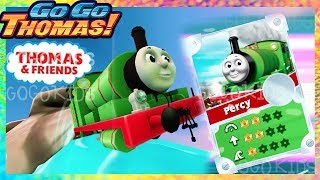Silver Percy Wins Again with Super Speed Booster! - Thomas & Friends: GoGo Thomas! New 2019