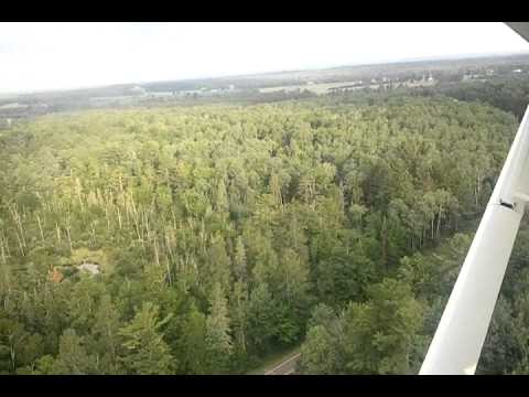 Floatplane over Chippewa Flowage WI Pt 1