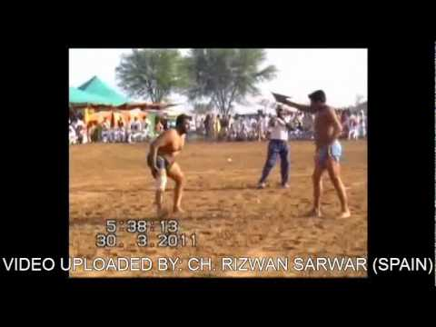 Yasar Javed   Kabadi Match Okara Vs Gujrat.p4 video