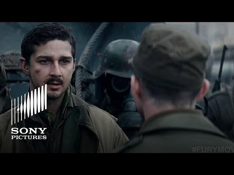 FURY - Heart Pounding Review - In Theaters NOW!