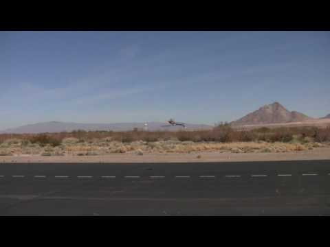 Alvin Chai Outrage RC Las Vegas Fun Fly 2010, Skookum SK 720 Flybarless System