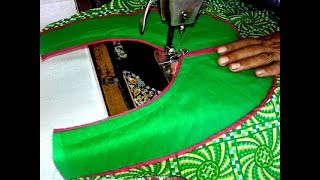 Kurti neck cutting and stitching video in hindi.