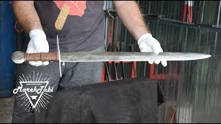 Making Historic Sword From 13th Century