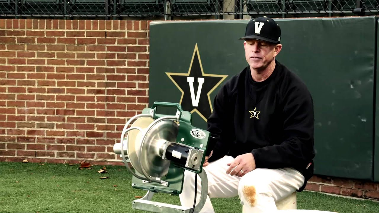 Infield Flyball Drills With Vanderbilt Baseball Coach Tim