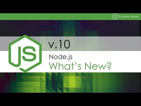 What's New In Node.js 10?