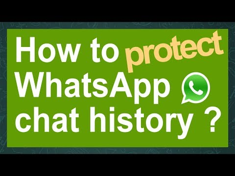 Old:How to hack WhatsApp chat history & how to protect it ! (crypt7 only)