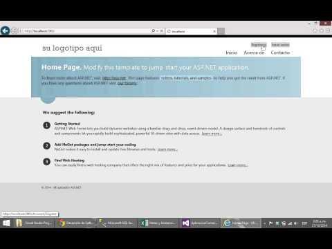 103 - Aplicación Comercial: WEB, empezando y primer CRUD, parte I