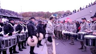 Air Force Vs West Point Drum Battle 2014 Official