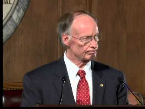 Governor Robert Bentley's 2015 State of the State Address