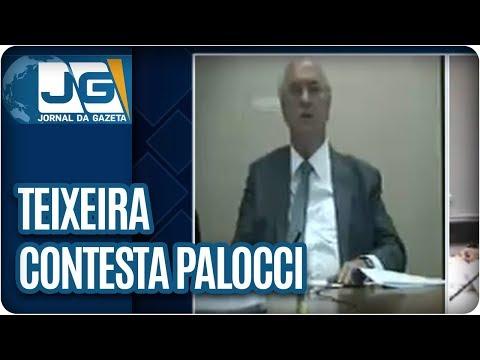 Teixeira contesta versão de Palocci