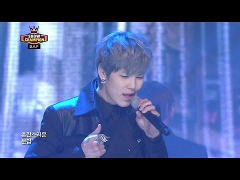 B.a.p - Rain Sound, 비에이피 - 빗소리, Show Champion 20130220 video