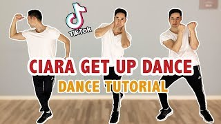Get Up Tik Tok Dance (Ciara) | Step By Step Dance Tutorial