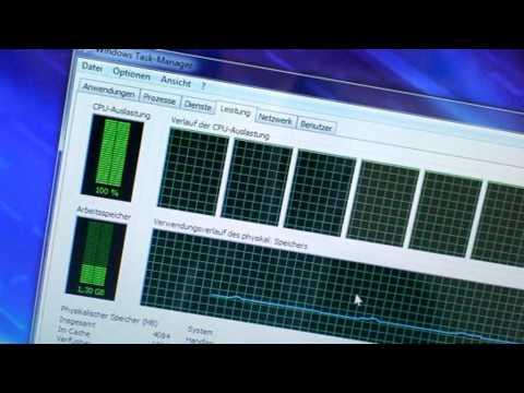 ZDNet.de - Acer Aspire 8940G-724G64Bn - Vier Kerne, acht Threads: Acers Core-i7-Notebook im Test
