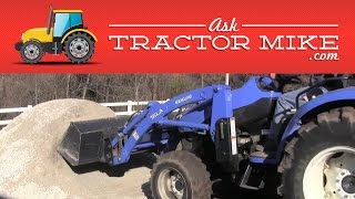 Using a Tractor and a Loader (10 things that you need to know when you've never done it)