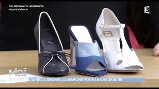 Des chaussures au design soigné et Made in Drôme