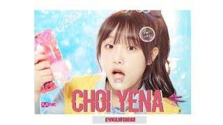 Choi Yena 최예나 Evolution in Produce48