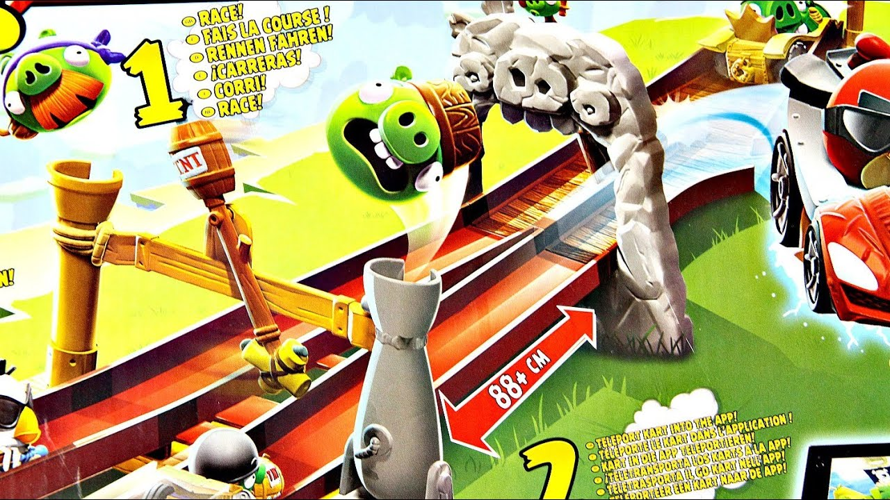 angry birds go telepods instructions
