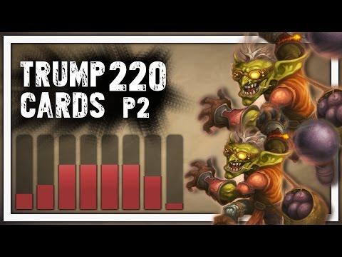Hearthstone: Trump Cards - 220 - Lobbing Bombs at Fools - Part 2 (Rogue Arena)