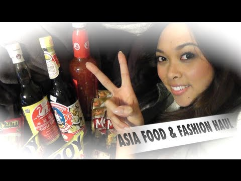 Asia Shop Food & Fashion HAUL