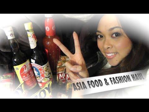 Asia Shop Food & Fashion HAUL