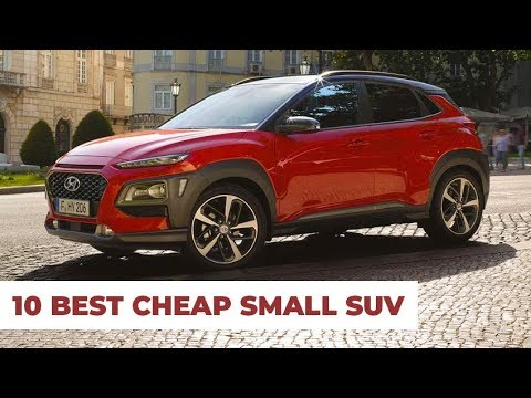 10 Best Small SUV 2019 – Cheap New & Updated Models 2020