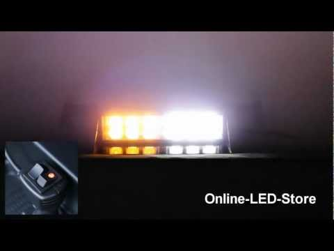LAMPHUS® SolarBlast™ 12W LED Emergency Vehicle Strobe Warning Windshield Dash Light
