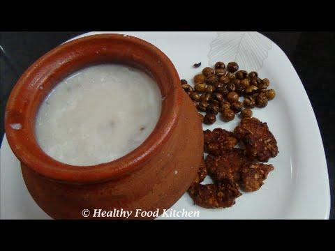 Kaikuthal Arisi Kanji Recipe-Brown Rice Porridge Recipe By Healthy Food Kitchen