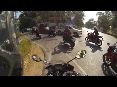 CBR500R+CB500F+CB500X:Honda Big Bike Fest 2013 @ Bonanza Speedway THAILAND [Gopro Hero3]