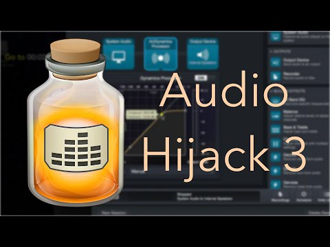Getting Movie Loudness Under Control - Audio Hijack 3 Tutorial