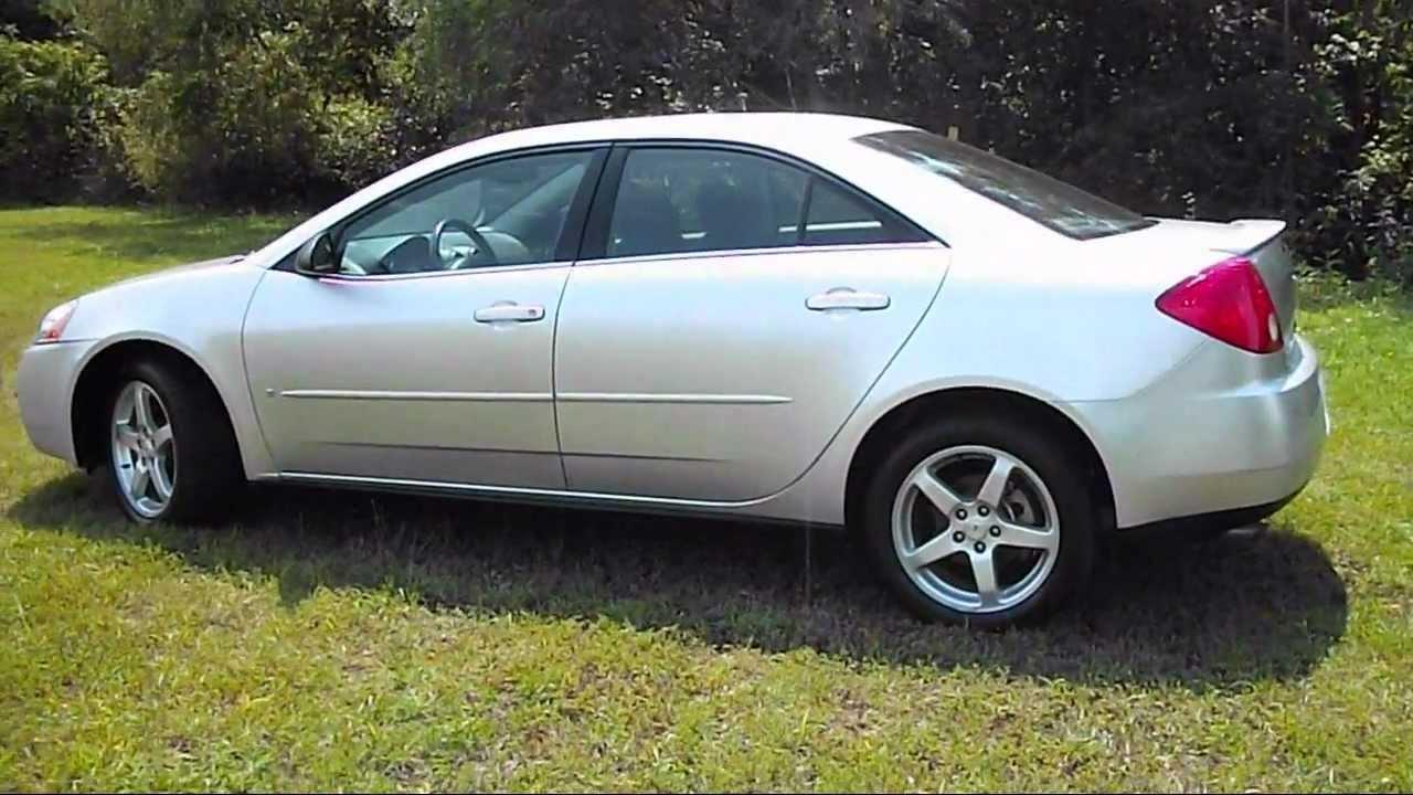 2009 Pontiac G6 Sedan Youtube