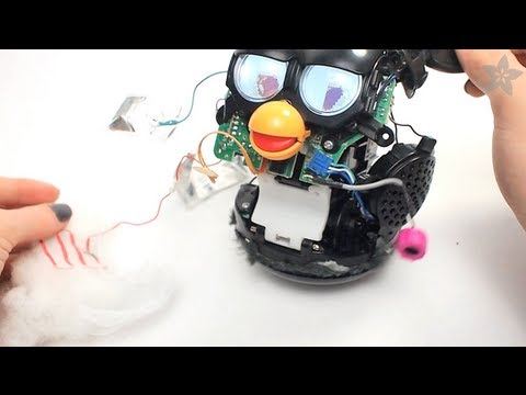 Furby After Teardown