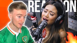 "Morissette performs ""Never Enough"" (The Greatest Showman OST) LIVE on Wish 107.5 Bus 