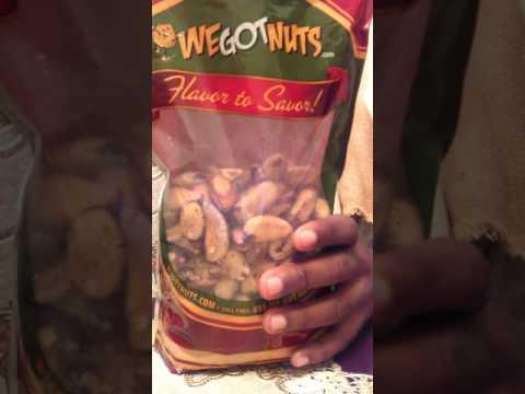 WeGotNuts- Raw Brazil nuts & The Raw Food World- Organic Raw Wild Jungle Peanuts review