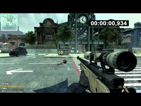 MW3: FASTEST KILL EVER: 0.934 sec!! First Blood | WORLD RECORD Music Videos