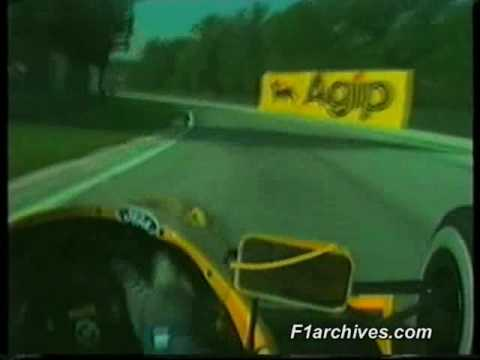 Hot lap of Imola in 1991 with Nelson Piquet in his Benetton-Ford B191 with commentary from Murray Walker. Enjoy!