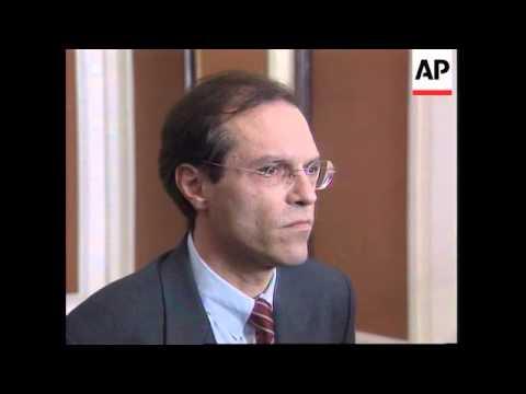 Bosnia - Press Conference Michael Steiner