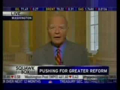 Congressman Kanjorski Previews Geithner Testifying Before Financial Services Committee