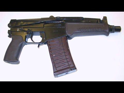 9-мм малогабаритный автомат СР3. Обзор