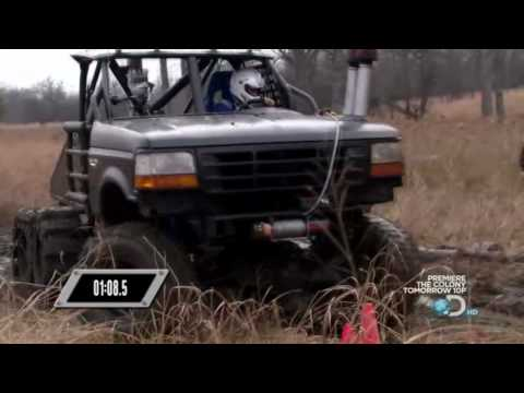 Prowler Over The Tire Skid Steer Tracks on Discovery Channel