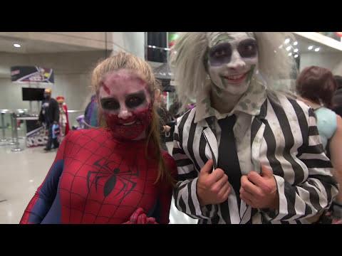 Horror Movie Villains Invade NYC! (Epic Halloween Flash Mob!)