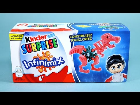 Kinder Surprise Eggs Infinimix Dinosaur Toys