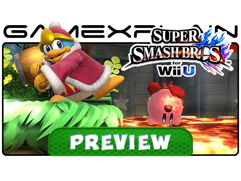 3-Hours w/ Smash Bros. Wii U - 8-Player Smash, New Stages, & More! (Preview)