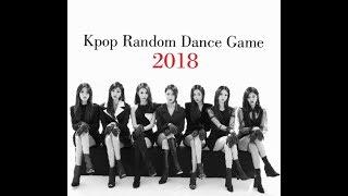 Kpop Random Dance Game 2018