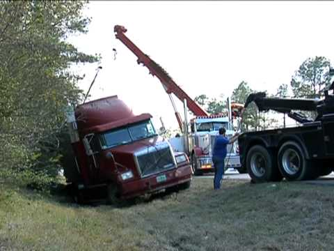 One Lucky Guy Tow Truck Operator