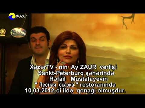 Ay Zaur Sankt-Peterburqda Rafail Mustafayevin qonaqi oldu-10.03.2012